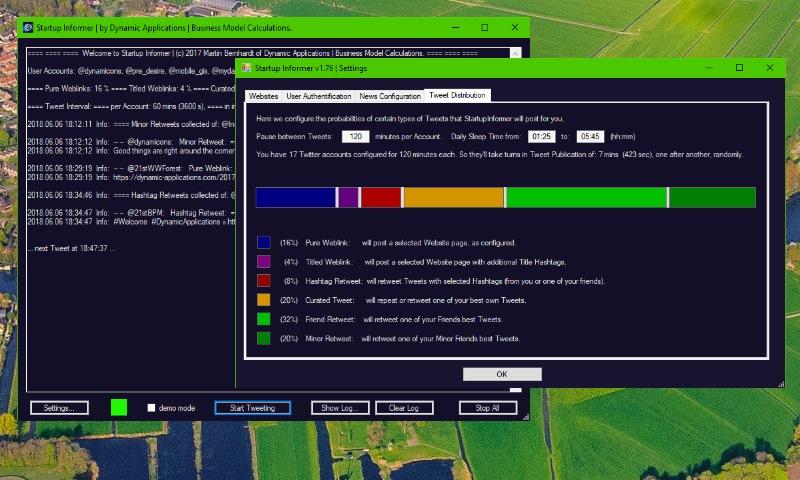 Startup Informer Screenshot
